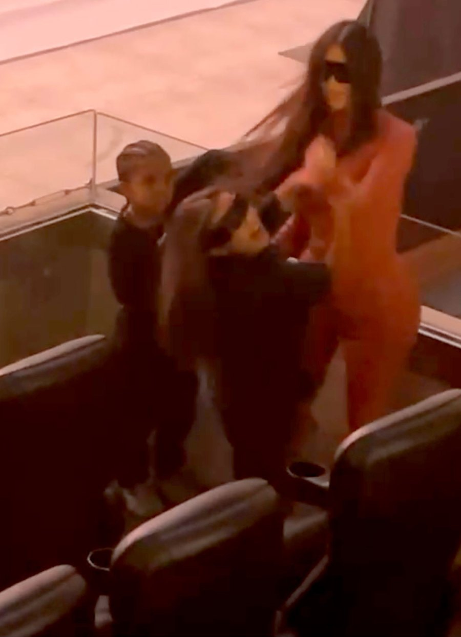 Kim Kardashian Spotted at Kanye West Donda Release Event 2