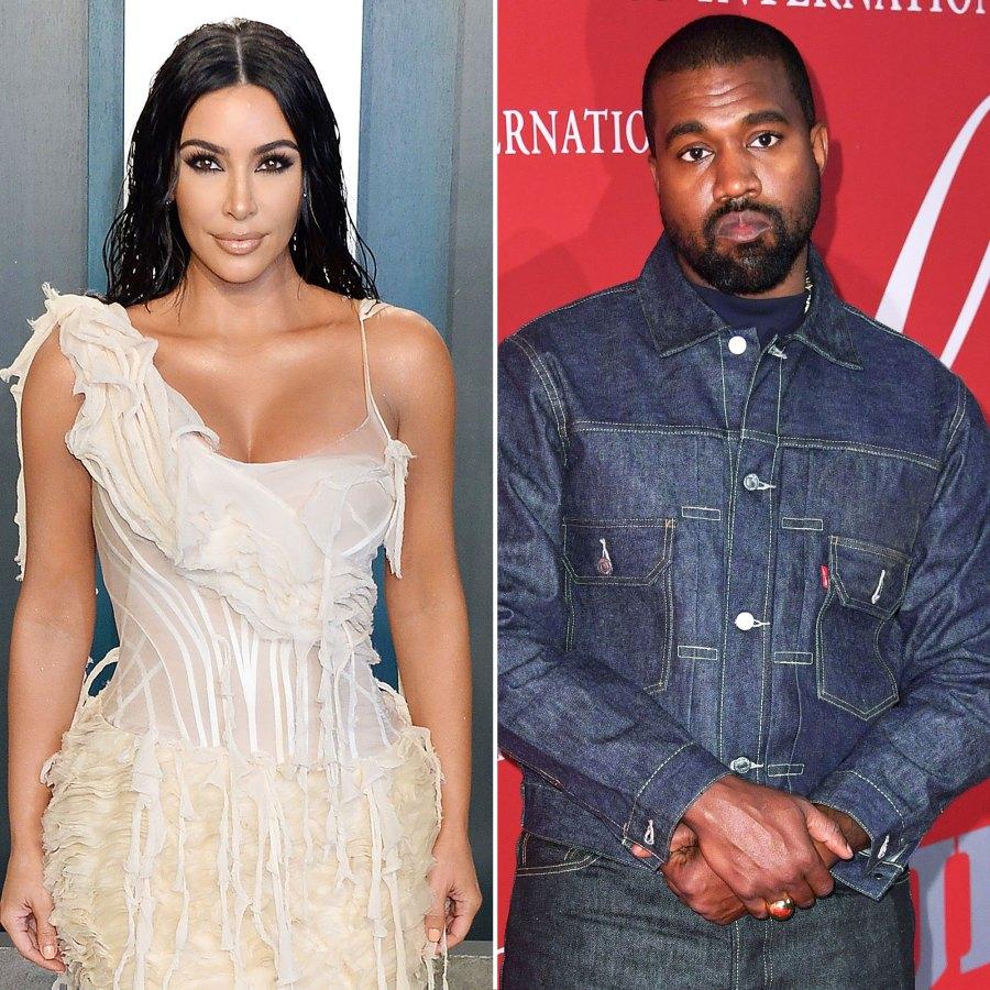 Kim Kardashian Spotted at Kanye West Donda Release Event
