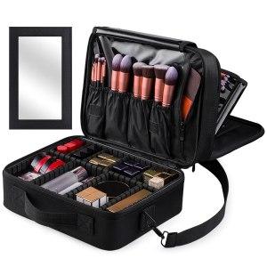 Kootek-Large-Travel-Makeup-Bag-3-Layer-Cosmetic-Train-Case
