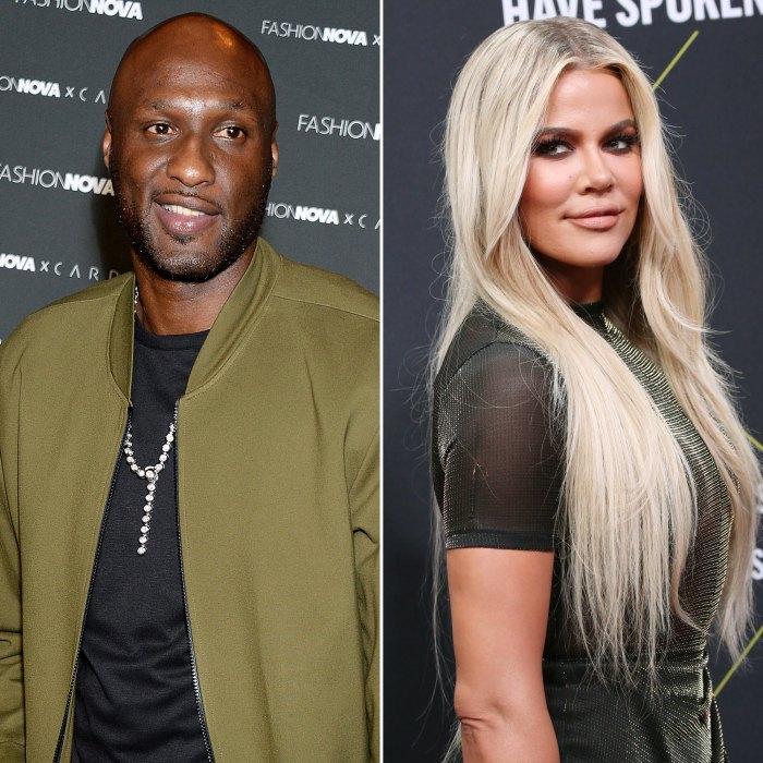Lamar Odom Leaves Flirtatious Comment on Ex-Wife Khloe Kardashian's Bikini Pic