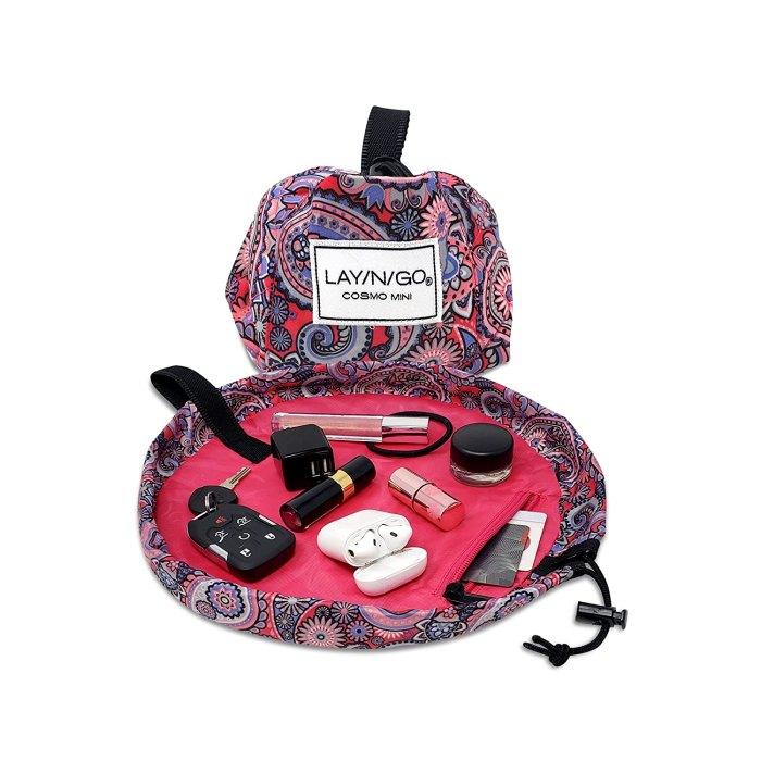 Lay-n-Go Mini 13 Makeup Bag with Drawstring
