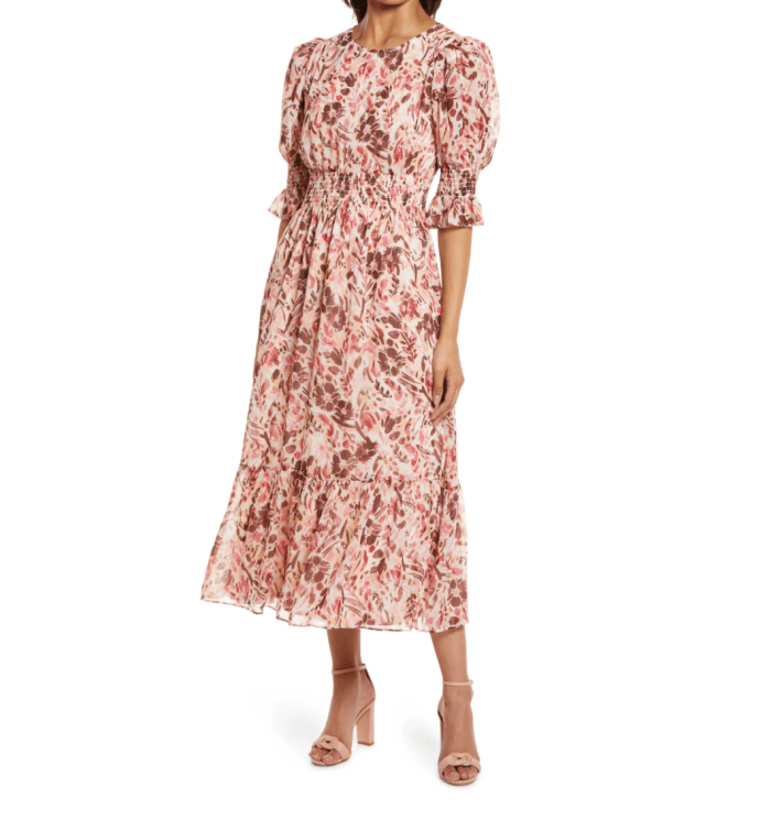 Maggy-London-Floral-Print-Smocked-Maxi-Dress