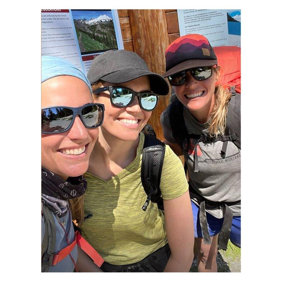 Mandy Moore Pumps Breast Milk Mountain Summit Climb