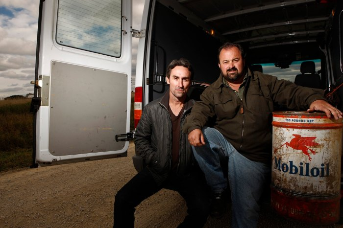 Mike Wolfe Frank Fritz Exits American Pickers