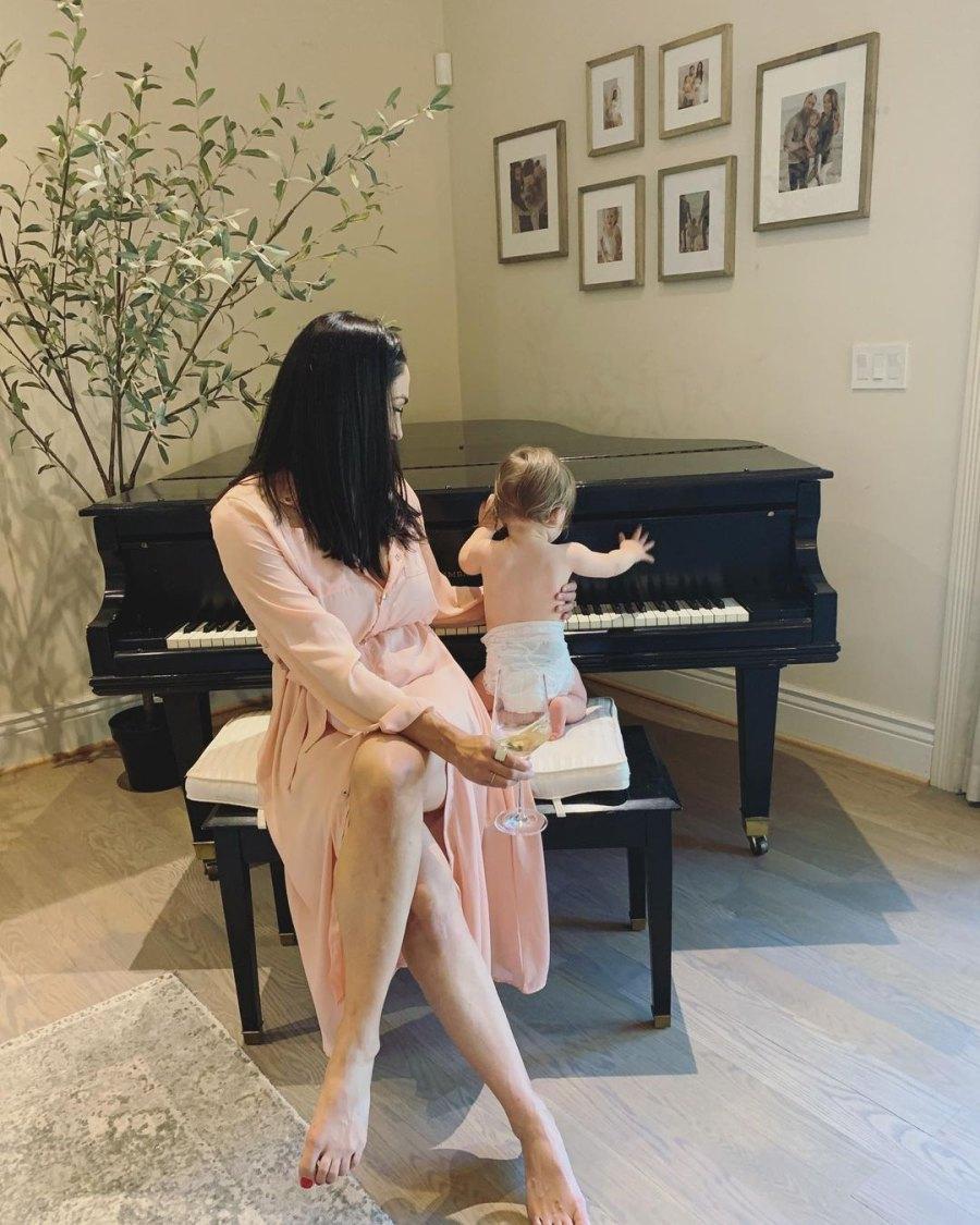 Mini Piano Man! Nikki Bella and Artem Chigvintsev's Son Matteo's Photos
