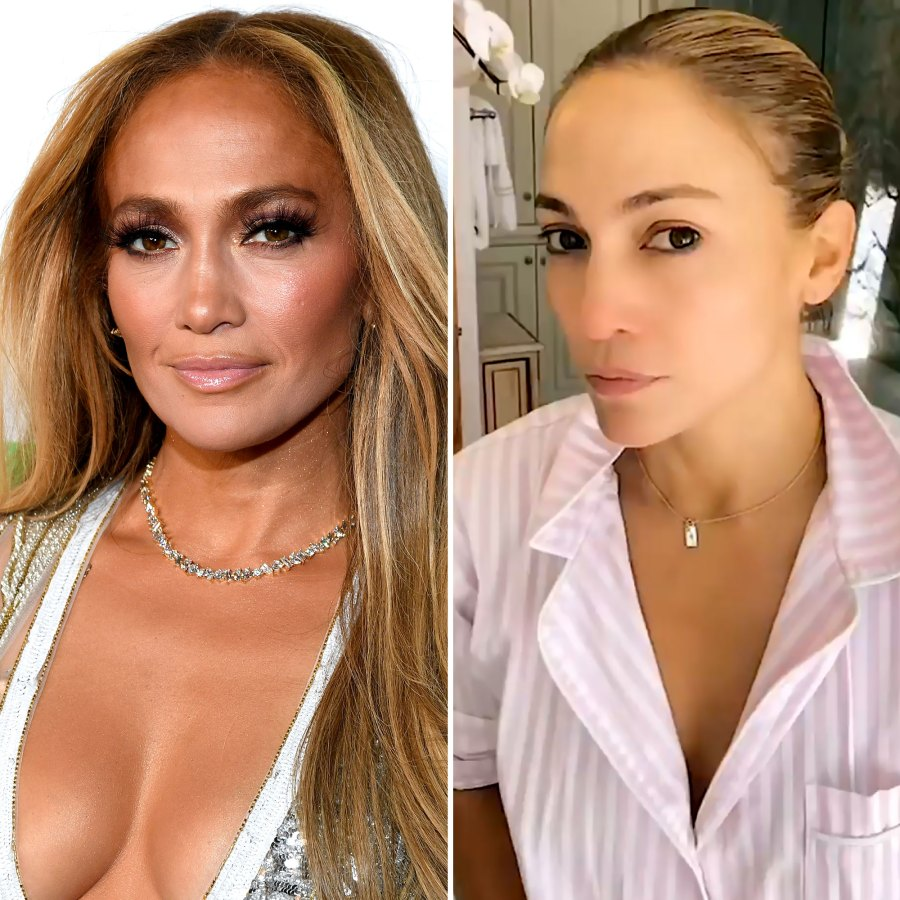 Must See! Jennifer Lopez's Makeup-Free Skin Is Pretty Much Perfect