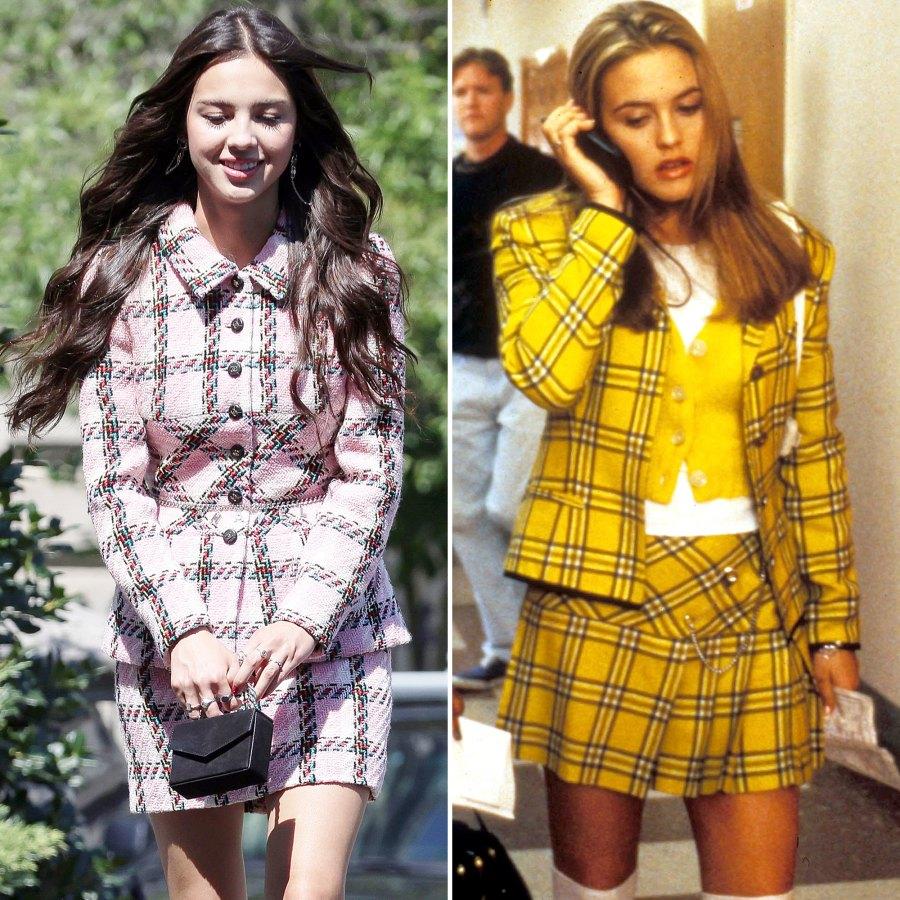 Olivia Rodrigo Took Style Cue From Cher Horowitz Before Heading White House