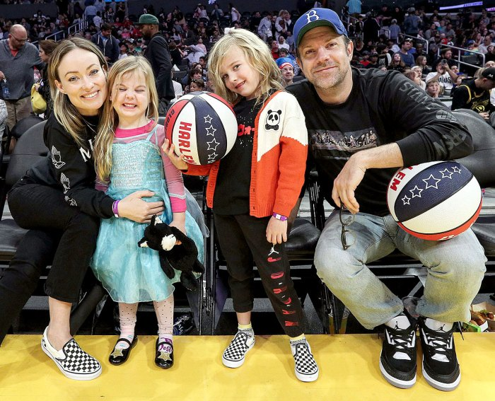 Olivia Wilde Jason Sudeikis Are Giving Their Kids Normal Life