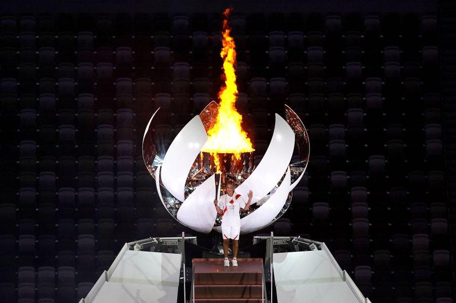 Opening Ceremony Tokyo Olympic Games Naomi Osaka