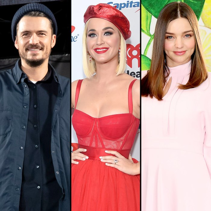 Orlando Bloom llama a Katy Perry Miranda Kerr más linda después de una sesión de yoga