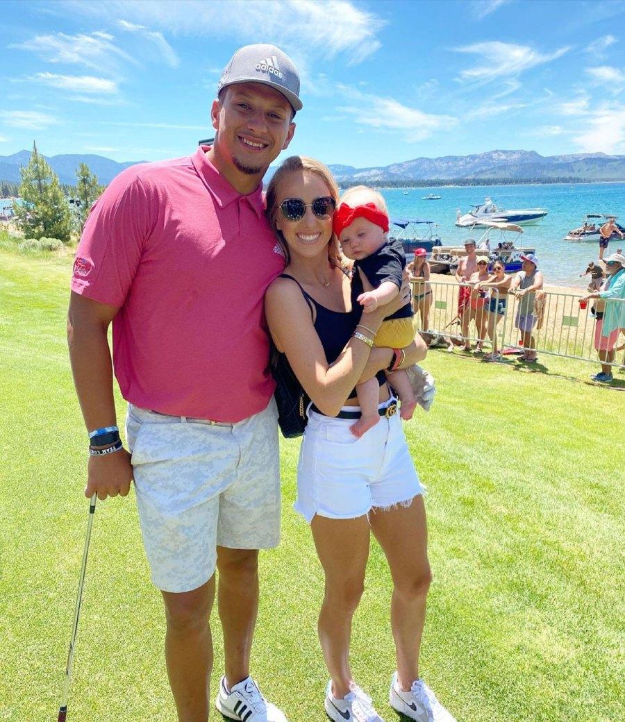 Patrick Mahomes and Brittany Matthews Sterling Golf