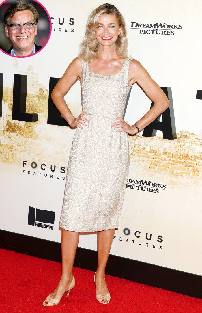 Paulina Porizkova hace su primer debut en la alfombra roja desde la separación de Aaron Sorkin