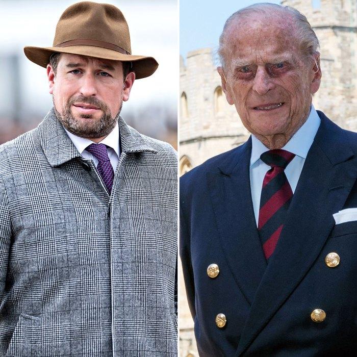 Peter Phillips habla sobre cómo lidiar con la pérdida del abuelo, el príncipe Felipe