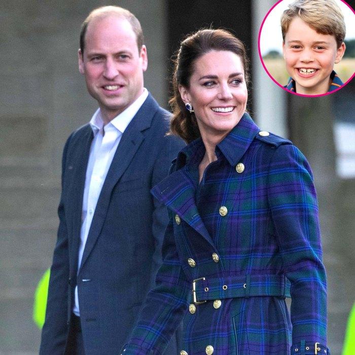 El príncipe Guillermo, la duquesa Kate, está abierto para enviar a George al internado