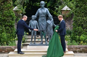 Prince William and Prince Harry Diana Tributes