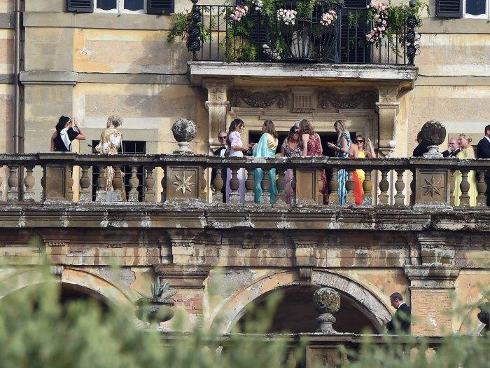 La sobrina de la princesa Diana, Lady Kitty Spencer, se casa con el magnate Michael Lewis en una lujosa ceremonia italiana