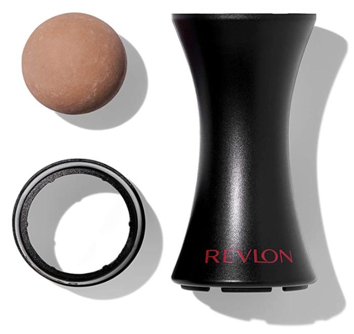 Revlon Herramienta de cuidado de la piel reutilizable con rodillo facial volcánico absorbente de aceite