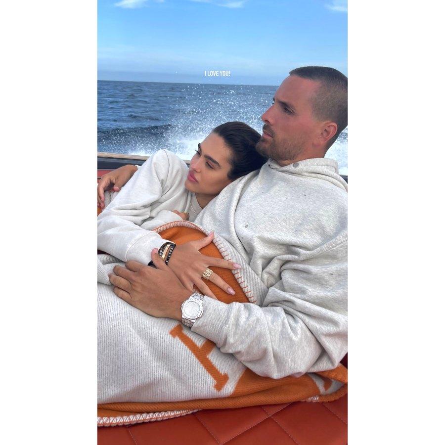 Scott Disick Cozies Up With Amelia Hamlin, Daughter Penelope on Weekend Boat Trip: See Pics