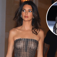 The Kardashian-Jenner Women Love to Ditch Their Bras! See Photos of Kim, Kylie, Kendall and More