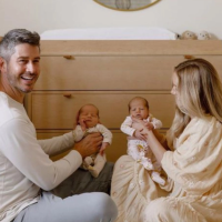 Arie and Lauren Luyendyk Give an Inside Look at Twins Lux and Senna's Stunning Nursery — See Photos!