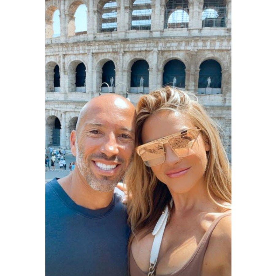 Smiling Selfie Selling Sunset Chrishell Stause Jason Oppenheim Visit Colosseum