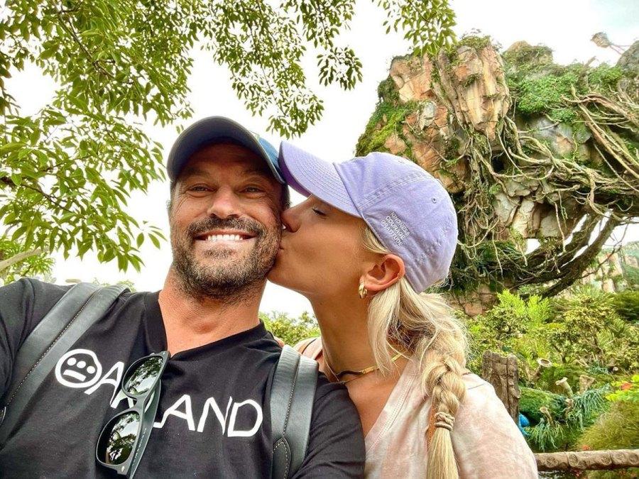 Sharna Burgess and Brian Austin Green Disney World