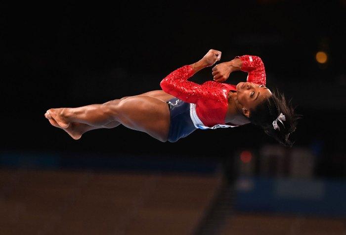 Simone Biles, una efusión de amor en medio de los Juegos Olímpicos de Tokio 2