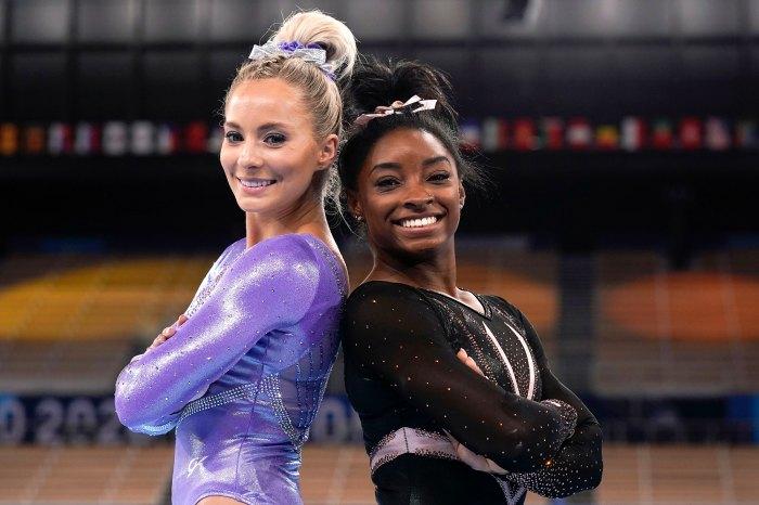 ¡Soporte del equipo de EE. UU.!  Simone Biles elogia a la gimnasta MyKayla Skinner en medio de una gran decepción