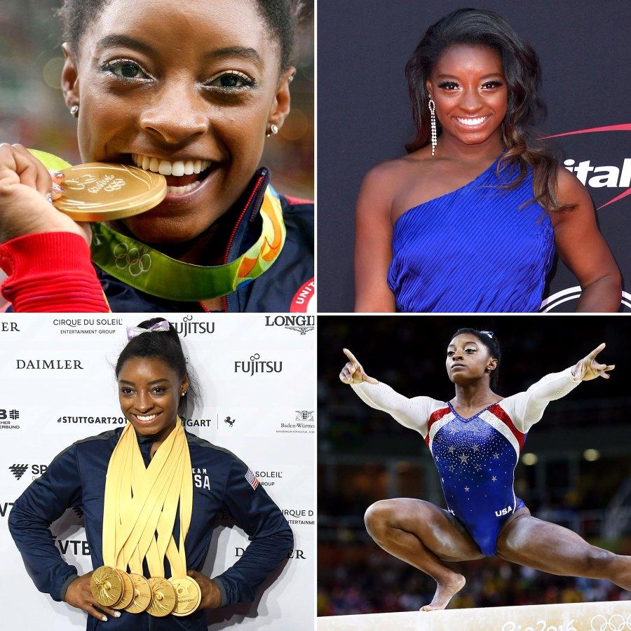 Simone Biles Through the Years