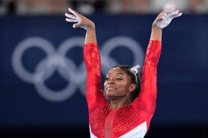 Salida de los Juegos Olímpicos de Tokio Simone Biles