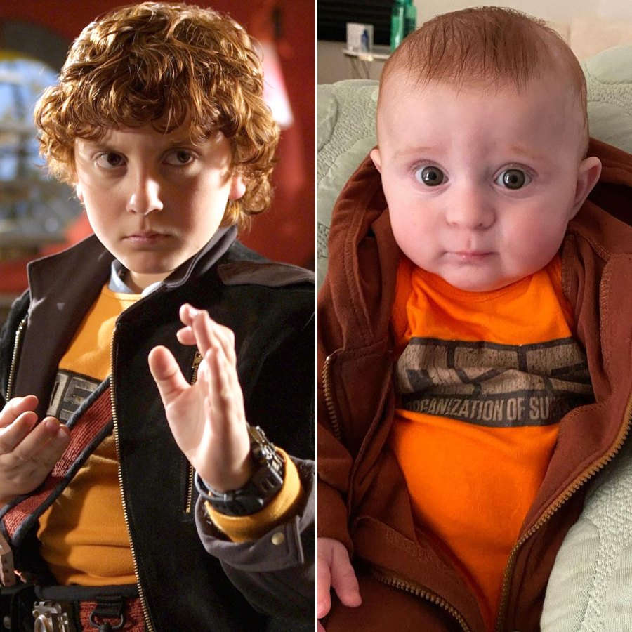 Meghan Trainor's Son Riley Is Just Like Dad Daryl Sabara in Mini 'Spy Kids' Outfit