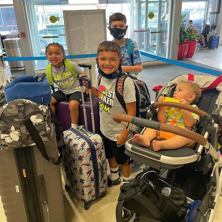 Teen Mom 2 Kailyn Lowry Takes Dominican Republic Vacation With 4 Sons 2