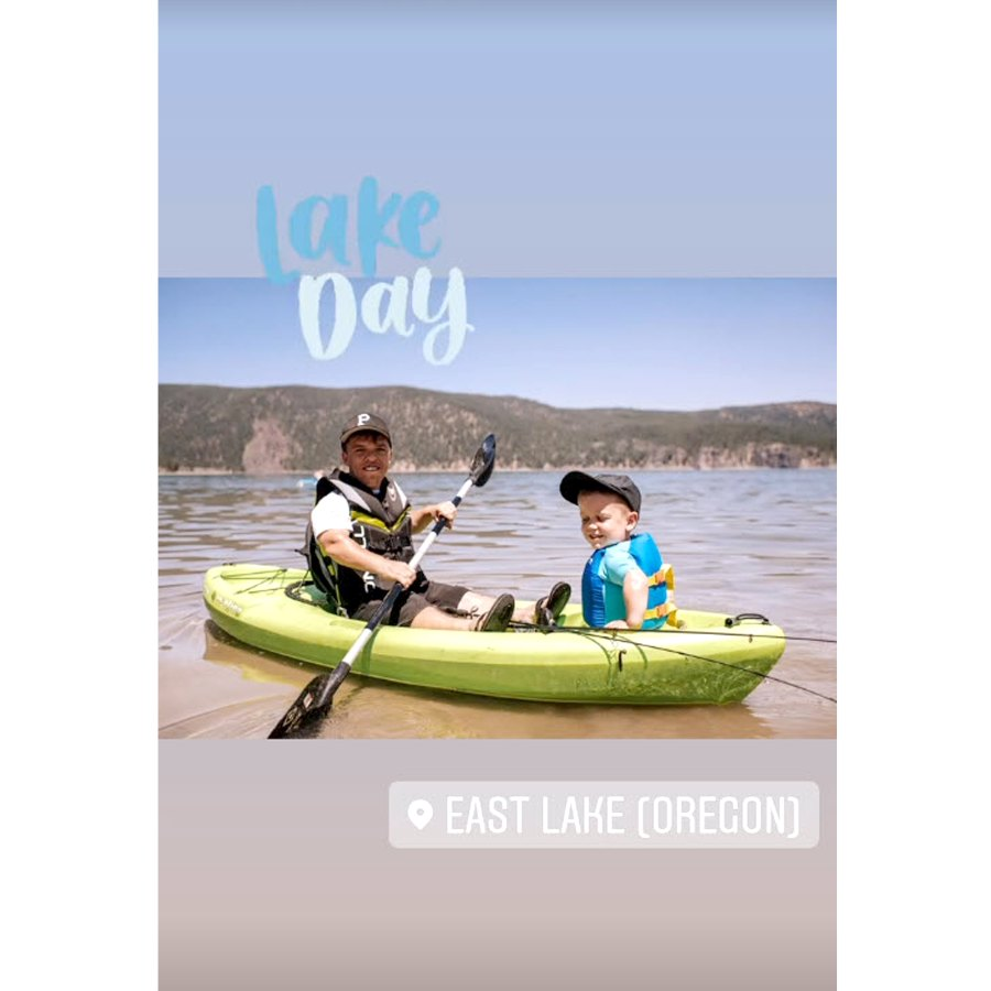 Vacation Views Tori Roloff Zach Roloff Sweetest Moments With Son Jackson Daughter Lilah