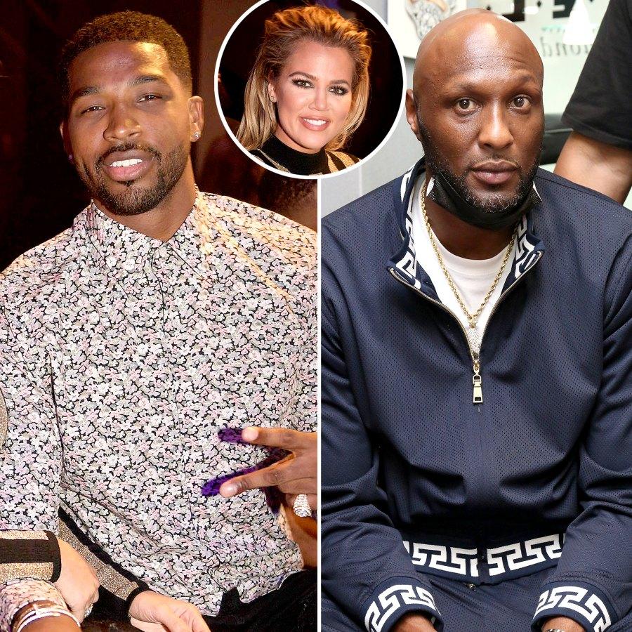 Tristan Thompson Lamar Odom Feud Over Khloe Kardashian Timeline