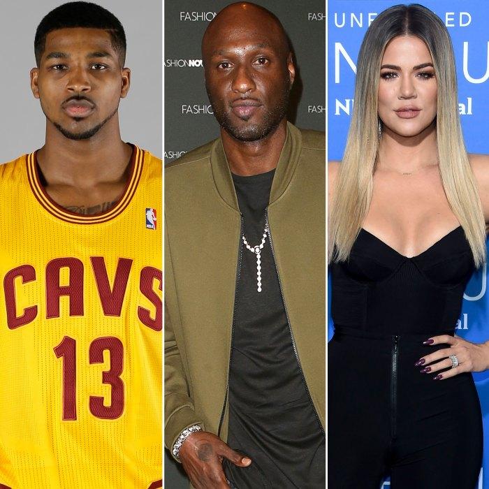Tristan Thompson amenaza a Lamar Odom por coquetear con Khloe Kardashian por una foto en bikini