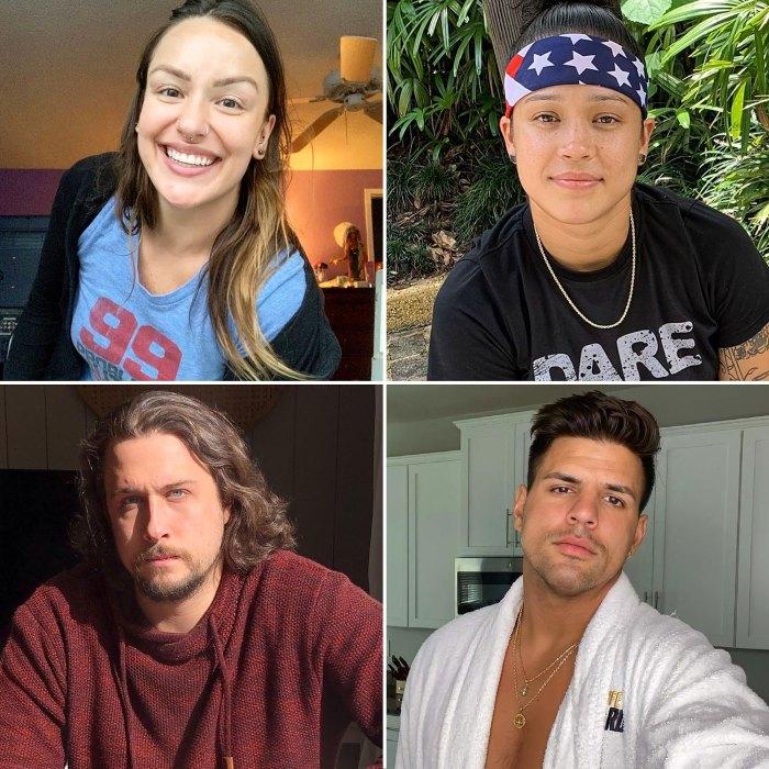 Veronica Doherty Kaycee Clark Jon Pardy Faysal Shafaat Canada vs USA Big Brother Celebrity Net Peleas