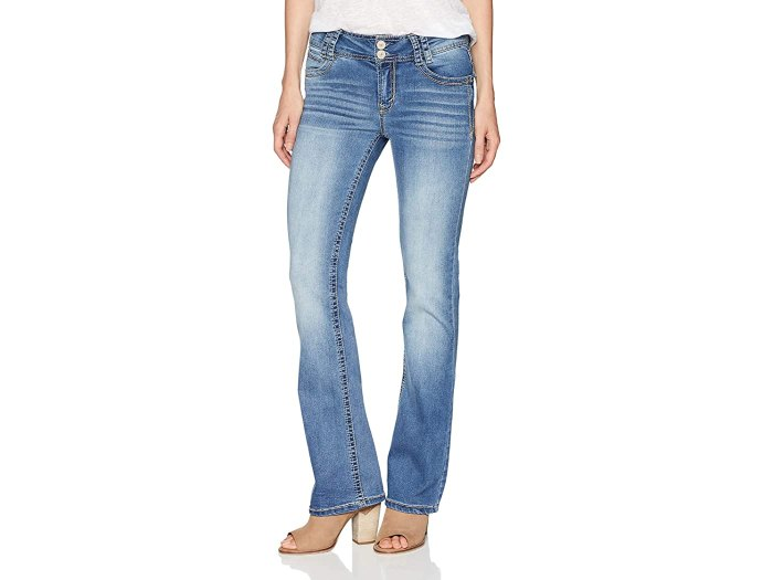 Wallflower InstaStretch Luscious Curvy Bootcut Jeans (Andrea)