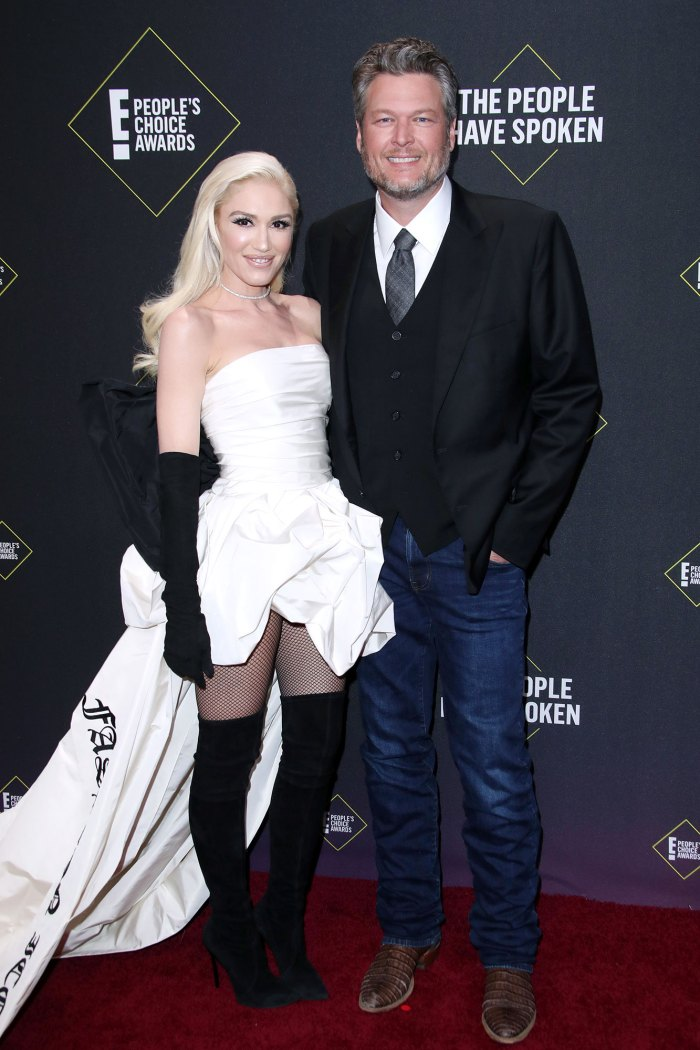 Gwen Stefani Blake Shelton Solicita la licencia de matrimonio
