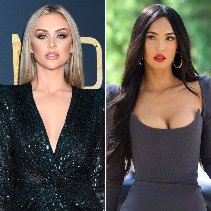 Por qué los fanáticos piensan que la estrella de Vanderpump Rules Lala Kent arrojó sombra a Megan Fox