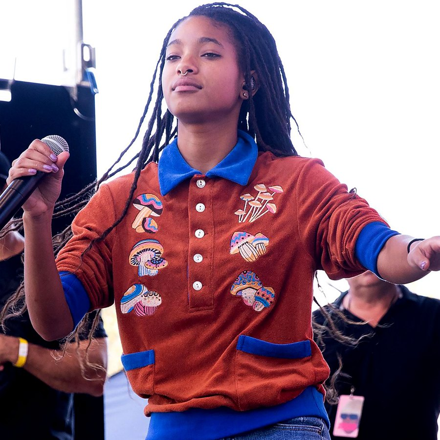 Willow Smith Opened Up About Having an Anxiety Attack Before a Performance