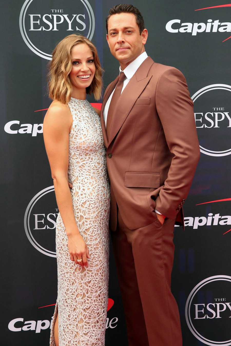 Zachary Levi Makes Red Carpet Debut With Rumored Girlfriend Caroline Tyler at the ESPYs