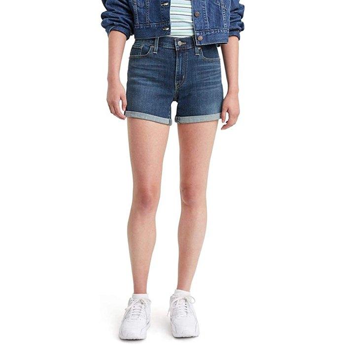 amazon-prime-wardrobe-levis-denim-shorts