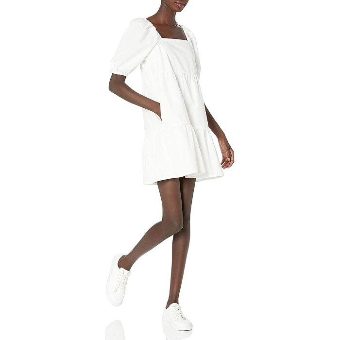 amazon-prime-wardrobe-puff-sleeve-dress