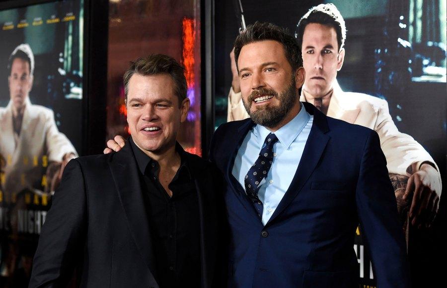 Matt Damon and Ben Affleck's Bromance Through the Years