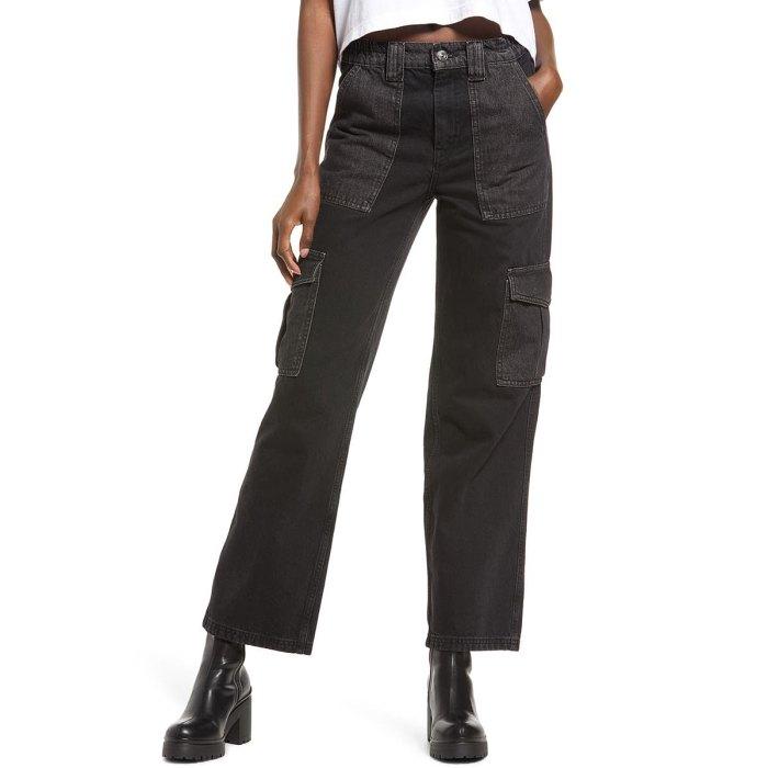 nordstrom-aniversario-rebajas-urban-outfitters-cargo-jeans-pants