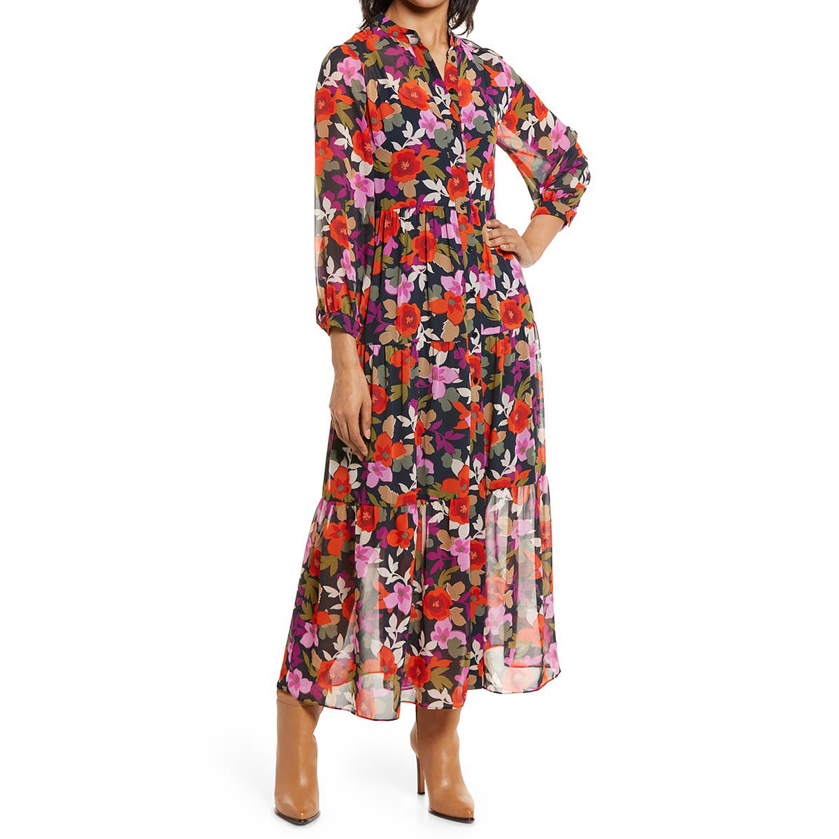 nordstrom-anniversary-sale-zara-style-maggy-london-shirtdress