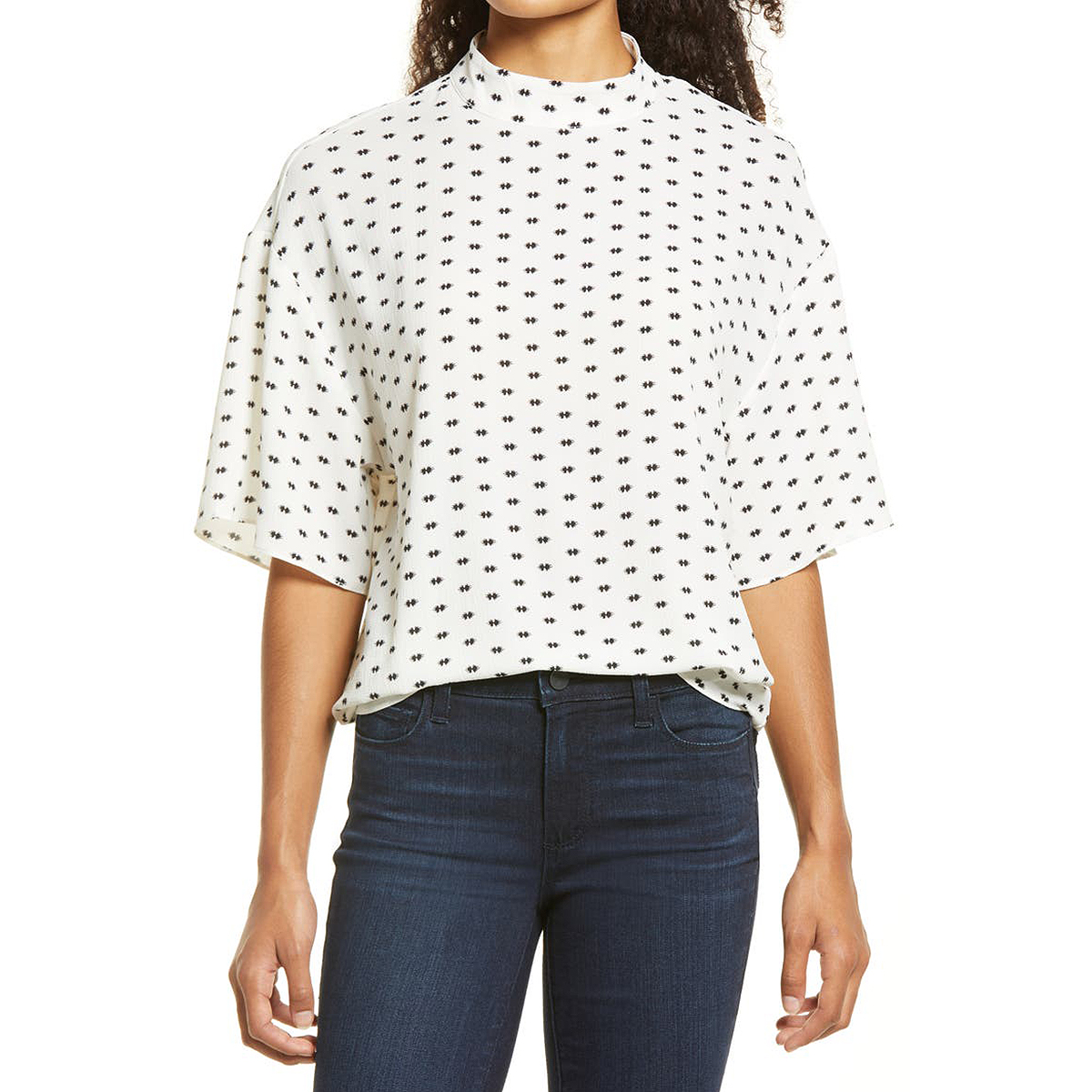 nordstrom-anniversary-sale-zara-style-vince-camuto-mock-blouse