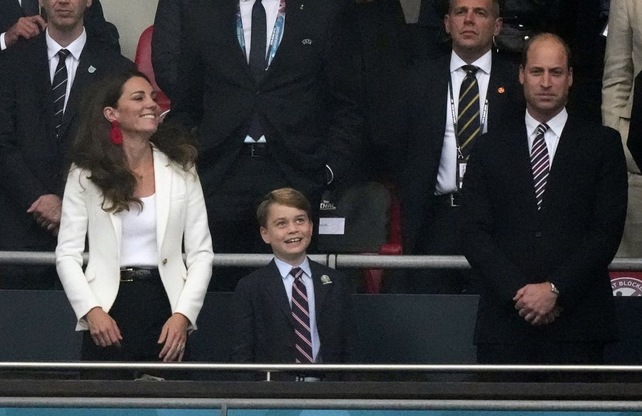 Prince George Shares Adorable Reaction With Prince William When England Scores a Goal at Euro 2020 Soccer Game