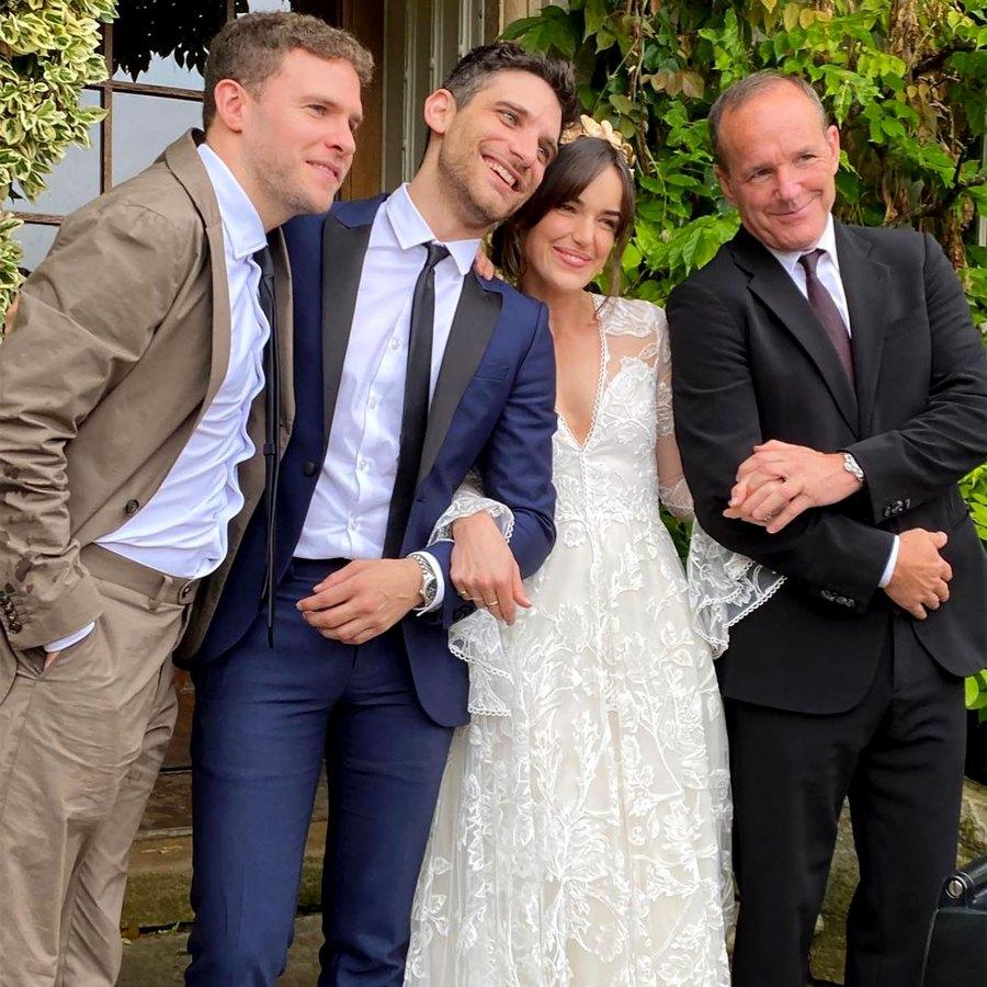'Agents of SHIELD' Stars Reunite for **Elizabeth Henstridge's Wedding
