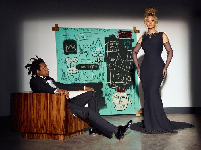 Toda la historia hace momentos de la campaña Beyonce Tiffany Co